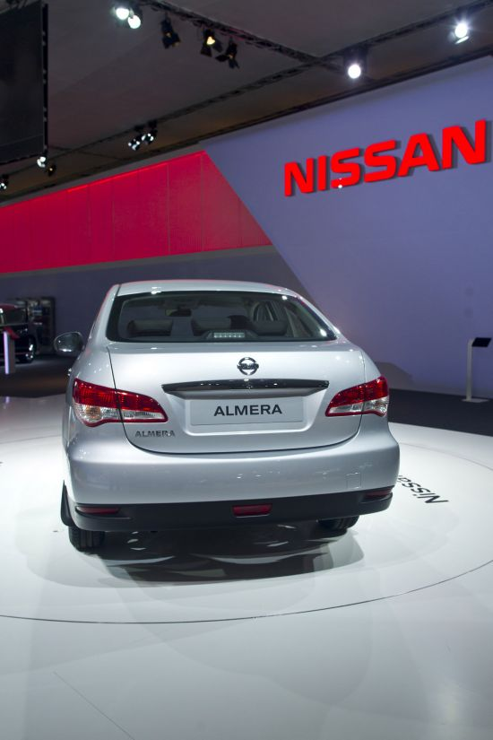 Nissan Almera Moscow