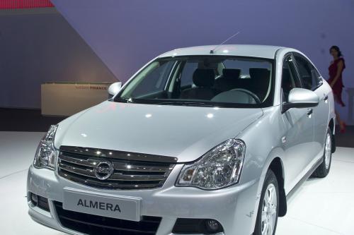 2013 Nissan Almera для России [видео]