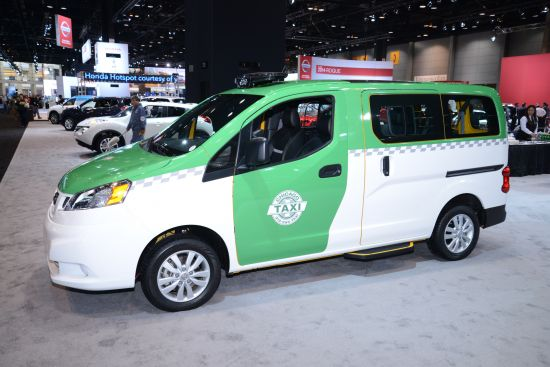 Nissan Chicago NV200 Taxi Chicago