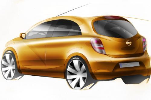 Nissan global compact car - первых эскизов выявлено