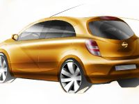 Nissan global compact car sketches, 1 of 2
