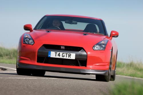 Nissan GT-R Европейской версии