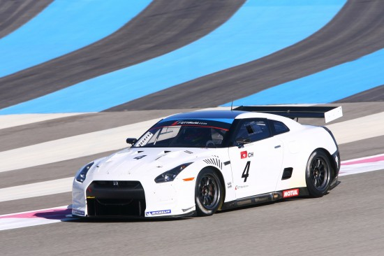 NISSAN GT-R Swiss Racing Team
