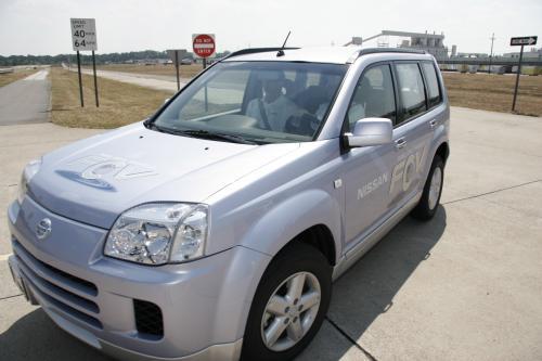 Нулевым уровнем выбросов технологии посещений Nissan Smyrna завод