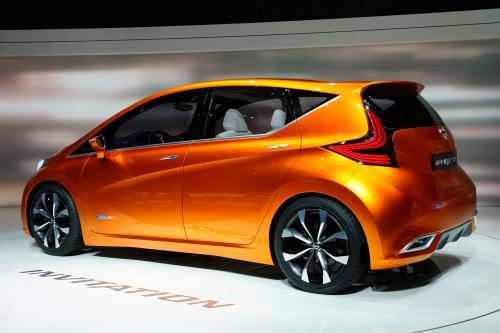 2012 Женевский Автосалон: Nissan Invitation Concept