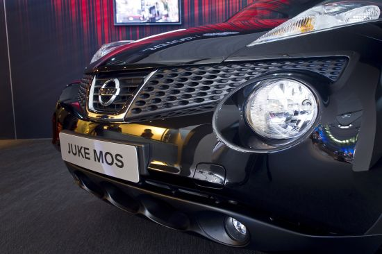 Nissan Juke Ministry of Sound Moscow