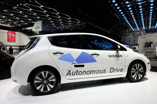 Nissan Leaf Autonomous Drive Geneva