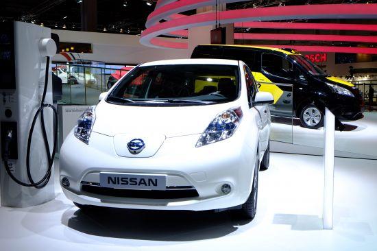 Nissan Leaf Frankfurt
