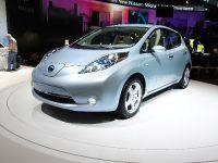 thumbnail image of Nissan LEAF Geneva 2010