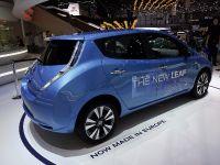 Nissan Leaf Geneva 2013