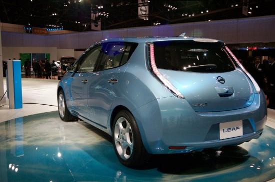Nissan Leaf Tokyo