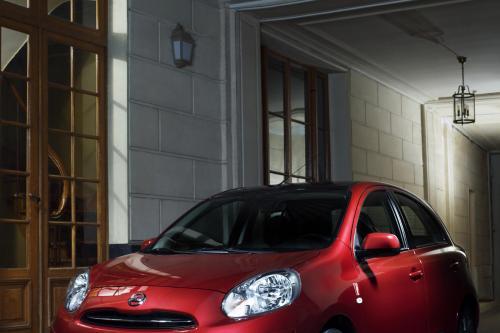 Nissan Micra ELLE предлагает стильно смотрится