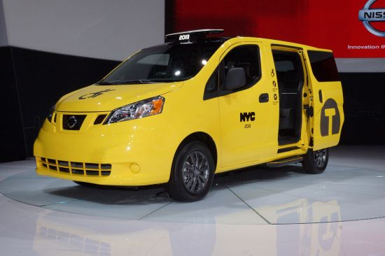 Nissan NV 200 New York taxi New York
