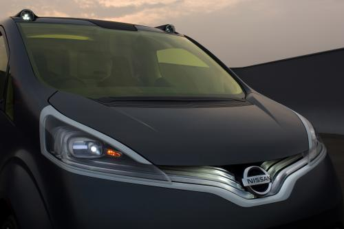 """Nissan NV200 Concept приносит \""""Human Touch\"""" и \"""" Персонализация \"""" для малого коммерческого Ван сегмента"""