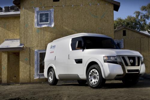 Nissan NV2500 Concept делает мировой дебют - превью Nissan въезд в США рынок коммерческих автомобилей