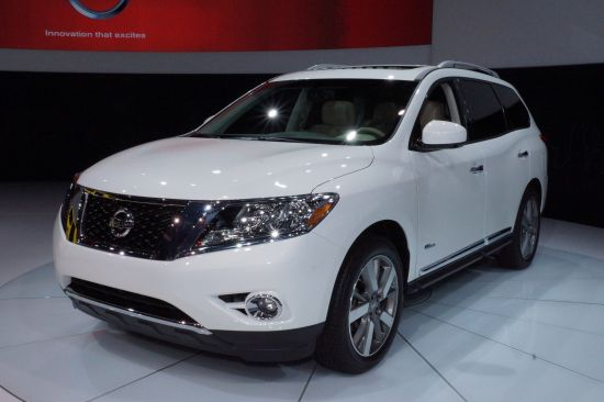 Nissan Pathfinder Hybrid New York
