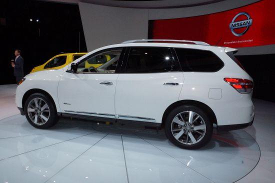 Nissan Pathfinder Hybrid New York