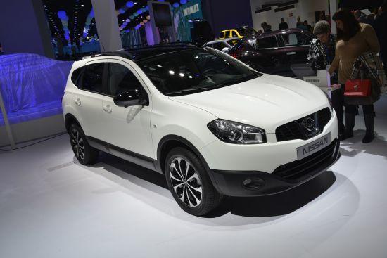 Nissan Qashqai+2 Paris