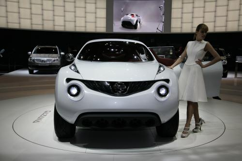 Кроссовер Nissan Design Concept Дебютирует На Женевском Автосалоне