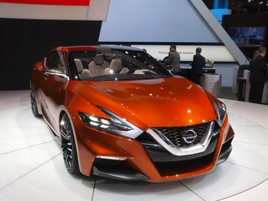 Nissan Sport Sedan Concept New York