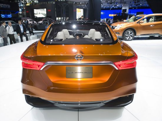 Nissan Sport Sedan Concept New York