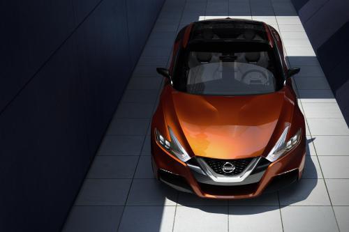 Nissan Спорт Седан Концепция Превью Будущего 2015 Максима