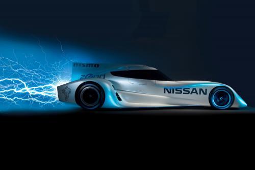 Nissan ZEOD RC - самый быстрый в мире Электрический гоночный автомобиль