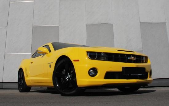O.CT Chevrolet Camaro Yellow Steam Hammer