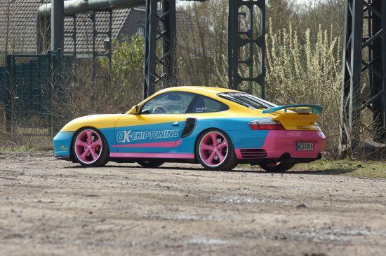 OK-Chiptuning Manta Porsche 996 Turbo