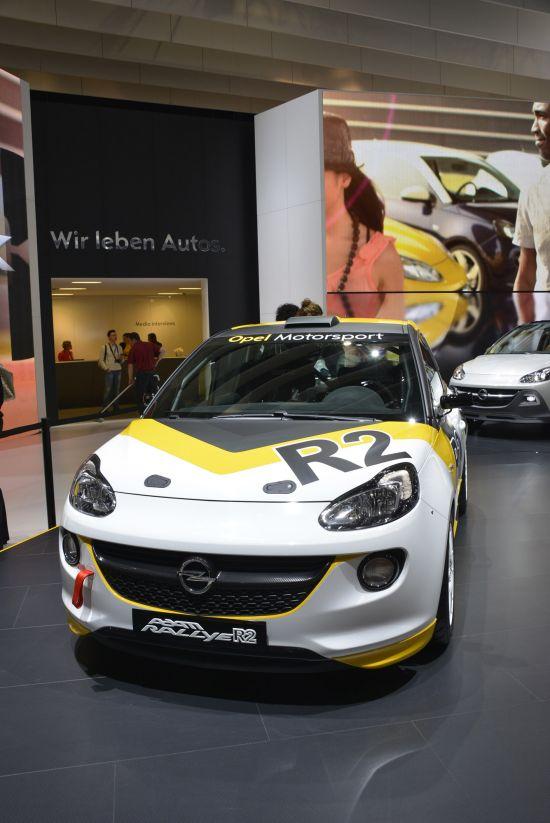 Opel Adam Rallye R2 Geneva