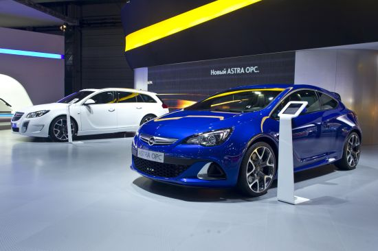 Opel Astra GTC Moscow