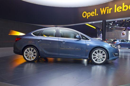 Opel Astra Sedan Moscow
