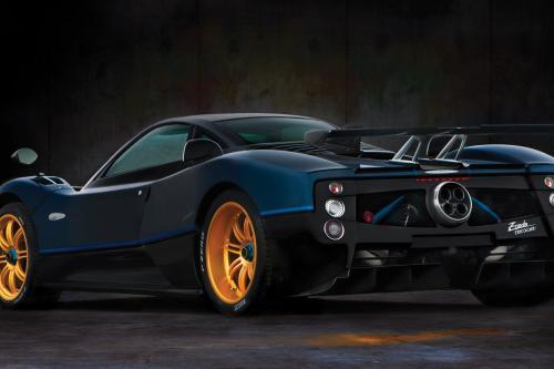 Pagani Automobili представила одноразовые edition Zonda Tricolore