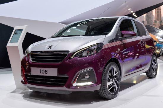 Peugeot 108 Geneva