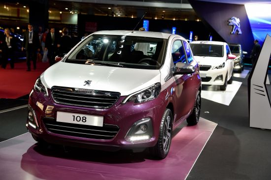 Peugeot 108 Paris
