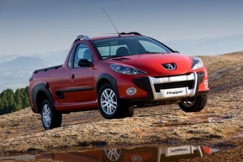 Peugeot запускает новый 207 ХОГГАРА pick-up в Бразилии