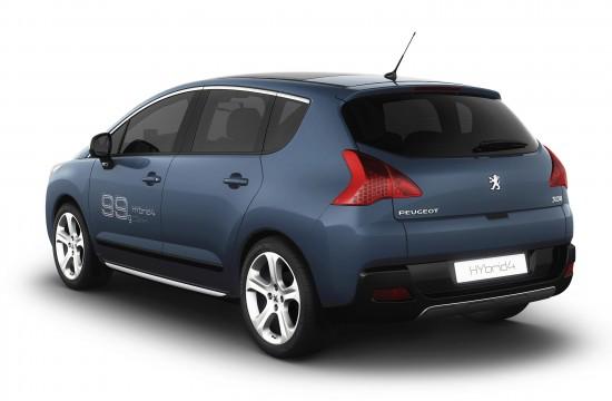 Peugeot 3008 HYbrid4 concept