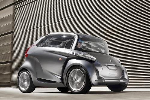Peugeot BB1 - автомобиль с нулевым уровнем выбросов