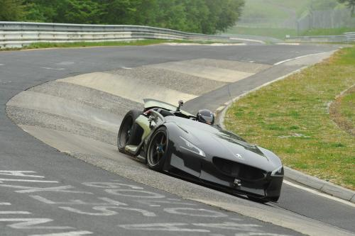 Peugeot EX1 - Nurburgring Nordschleife рекордные сроки