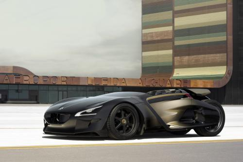Peugeot uveils ultra-fast EX1 concept