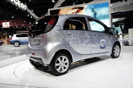 Peugeot iOn Paris