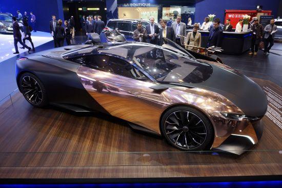 Peugeot Onyx Concept Geneva