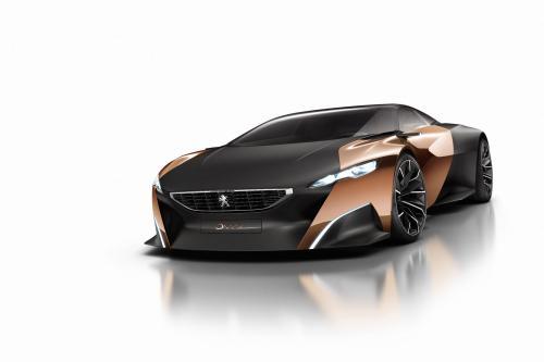 Peugeot Onyx Concept представила впереди Париж [видео]