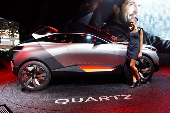 Peugeot Quartz Paris