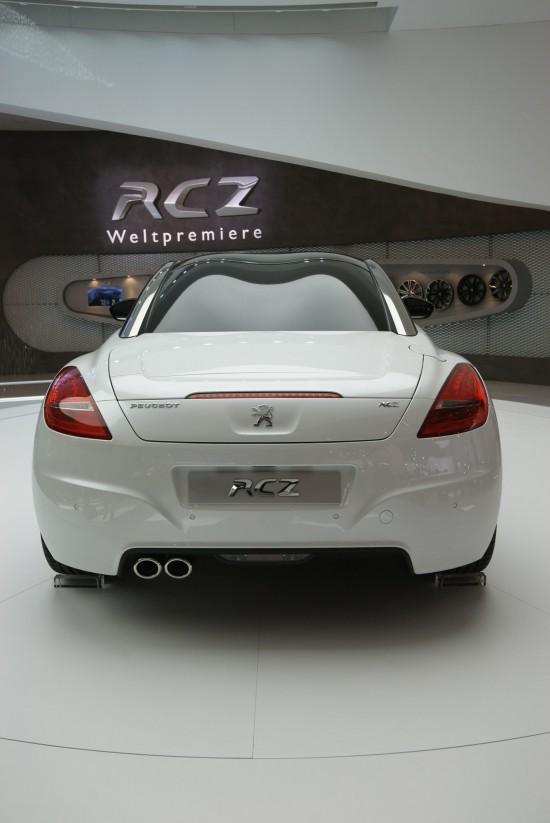 Peugeot RCZ Frankfurt