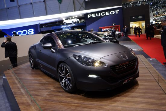 Peugeot RCZ R Concept Geneva