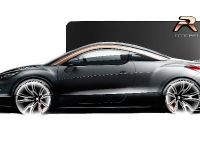 Peugeot RCZ R Concept Sketch , 2 of 7
