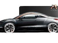 Peugeot RCZ R Concept Sketch , 2 of 7