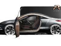 Peugeot RCZ R Concept Sketch , 3 of 7