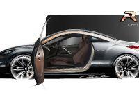Peugeot RCZ R Concept Sketch , 3 of 7